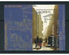 1994 - LOTTO/20238 - CROAZIA - 900° CITTA' DI ZAGABRIA - FOGLIETTO