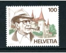 1994 - LOTTO/20279 - SVIZZERA - GEORGES SIMENON - NUOVO