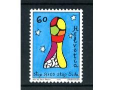 1994 - LOTTO/20280 - SVIZZERA - LOTTA AIDS - NUOVO