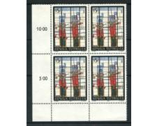 1988 - LOTTO/20289Q - AUSTRIA - ARTE MODERNA - QUARTINA