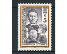 1988 - LOTTO/20291 - AUSTRIA - CONGRESSO PEDAGOGIA - NUOVO