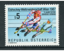 1987 - LOTTO/20292 - AUSTRIA - CAMPIONATI DI HOCKEY - NUOVO