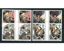 1987 - LOTTO/20307A - GRAN BRETAGNA - AMBULANZE 4v. COPPIE  NUOVI