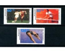 1988 - LOTTO/20310 - GERMANIA - AIUTO ALLO SPORT 3v. NUOVI