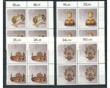 1988 - LOTTO/20313Q - GERMANIA - BENEFICENZA 4v. - QUARTINE