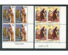 1988 - LOTTO/20380Q - SPAGNA - SETTIMANA SANTA 2v. - QUARTINE
