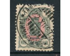 1889 - LOTTO/20468 - FINLANDIA - 1M GRIGIO ROSA USATO