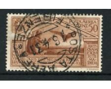 1930 - LOTTO/20474 - REGNO - 50c. POSTA AEREA VIRGILIO - USATO