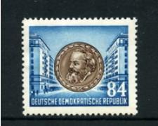 1953 - LOTTO/20478 -  GERMANIA DDR - 84p. C. MARX - NUOVO