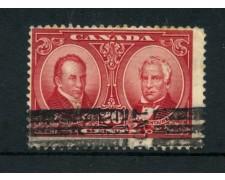 1927 - LOTTO/20942 - CANADA - 20C. PERSONALITA POLITICHE - USATO