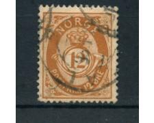 1883 - LOTTO/20530 - NORVEGIA - 12 ore BISTRO USATO