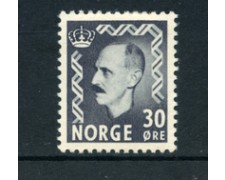 1950 - LOTTO/20536 - NORVEGIA - 30 ore RE  HAAKON - LING.