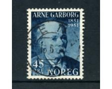 1951 - LOTTO/20538 - NORVEGIA - 45 ore ARNE GARBORG - USATO