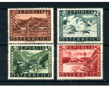 1945 - LOTTO/20570 - AUSTRIA - VEDUTE  II° TIPO 4v. - LING