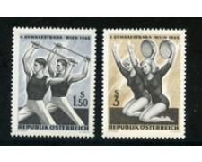 1965 - LOTTO/20571 - AUSTRIA - 4° FESTA GINNICA  2v. - NUOVI