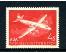 1958 - LOTTO/20574 - AUSTRIA - P/AEREA VOLO INAUGURALE - NUOVO
