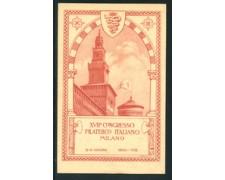 1930 - LOTTO/20785GA - BELTRAME  MILANO XVII° CONGRESSO FILATELICO  - NUOVA