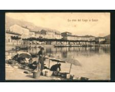 LECCO - 1912 - LOTTO/20812GA - LA RIVA DEL LAGO DI LECCO - VIAGGIATA