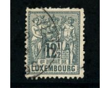 1882 - LOTTO/20830 - LUSSEMBURGO - 12,5c.. ARDESIA - USATO