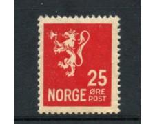 1926 - LOTTO/21023 - NORVEGIA - 25 ore ROSSO - LING.