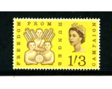 1963 - LOTTO/21080 - GRAN BRETAGNA - 1/3 FAO - NUOVO