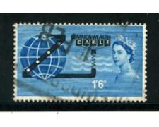 1963 - LOTTO/21081 - GRAN BRETAGNA - CAVO TELEFONICO COMPACT - USATO