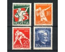 1932 - LOTTO/21131 - SVIZZERA - PRO JUVENTUTE 4v. - NUOVI