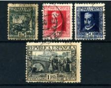 1935 - LOTTO/21210 - SPAGNA - LOPE DE VEGA - 4v. - USATI