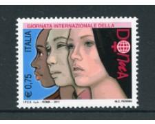 2011 - LOTTO/21253 - REPUBBLICA - ANNO DELLA DONNA - NUOVO