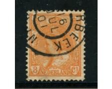 1898 - LOTTO/21268 - OLANDA - 3 cent. ARANCIO - USATO