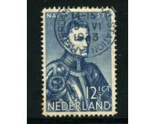 1933 - LOTTO/21273A - OLANDA - 12,5 c. GUGLIELMO I° - USATO