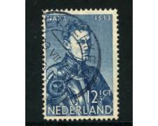 1933 - LOTTO/21273 - OLANDA - 12,5 c. GUGLIELMO I° - USATO
