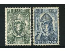 1939 - LOTTO/21288 - OLANDA - WILLIBRORD 2v. - USATI