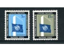 1962 - LOTTO/21349 - ONU U.S.A - MARTIRI O.N.U. 2v. - NUOVI