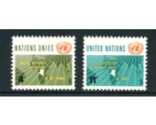 1962 - LOTTO/21350 - ONU U.S.A - OPERAZIONI NEL CONGO 2v. - NUOVI