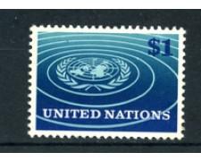 1966 - LOTTO/21371 - ONU U.S.A - 1 $ EMBLEMA ONU - NUOVO