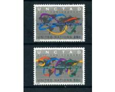 1994 - LOTTO/21419 - ONU U.S.A. - COMMERCIO E SVILUPPO 2v. - NUOVI