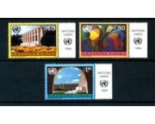 1994 - LOTTO/21450A - ONU SVIZZERA - POSTA ORDINARIA 3v. - NUOVI CON APP.
