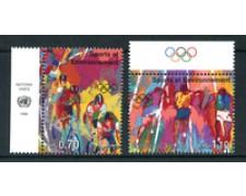 1996 - LOTTO/21452A - ONU SVIZZERA - SPORT E AMBIENTE  2v. - NUOVI CON APP.