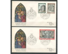 1970 - LOTTO/21477 - SMOM - NATALE  2 BUSTE FDC