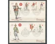 1971 - LOTTO/21478 - SMOM - ANTICHE UNIFORMI  2 BUSTE FDC