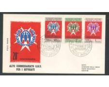 1971 - LOTTO/21480 - SMOM - PRO RIFUGIATI  BUSTA FDC