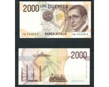 1990 - LOTTO/21498 - REPUBBLICA - 2000 LIRE GUGLIELMO MARCONI