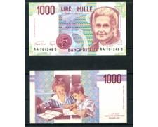1990 - LOTTO/21499 - REPUBBLICA - 1000 LIRE MARIA MONTESSORI