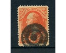 1873 - LOTTO/21518 - STATI UNITI - 3 cent. SERVIZIO - USATO