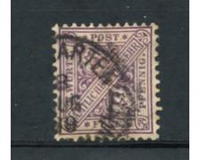 WURTTEMBERG - 1881 - LOTTO/21844 - 5p. LILLA SERVIZIO USATO