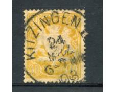 BAVIERA - 1888 - LOTTO/21859 - 40 p. GIALLO - USATO
