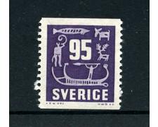1957 - LOTTO/21919 - SVEZIA - 95 o. VIOLETTO - NUOVO
