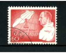 GROENLANDIA - 1969 - LOTTO/21972 - 60 o. GENETLIACO - USATO