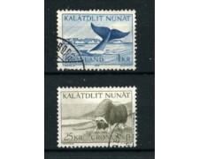 GROENLANDIA - 1969 - LOTTO/21973 - FAUNA 2v. - USATi